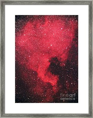 North America Nebula Framed Print