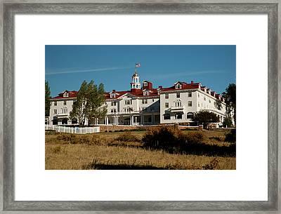 North America, Usa, , Colorado, Estes Framed Print by Patrick J. Wall