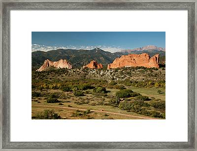 North America, Usa, Colorado Springs Framed Print