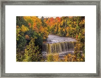 North America, Usa, Upper Peninsula Framed Print by Frank Zurey