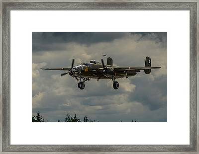 North American B-25j Mitchell Framed Print