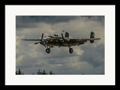 North American B-25j Mitchell Framed Prints