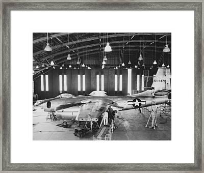 North American B-45 Tornado, 1947 Framed Print by Science Photo Library