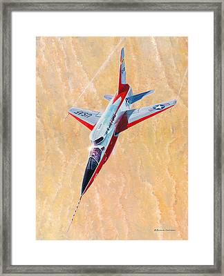North American F-107a Ultra Sabre Framed Print