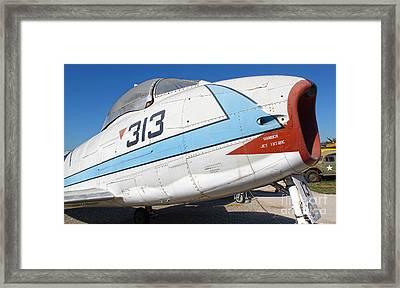 North American Fury Fj-3 - 02 Framed Print by Gregory Dyer