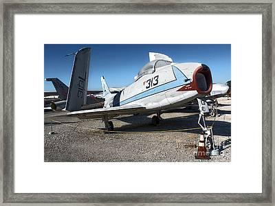 North American Fury Fj-3 Framed Print by Gregory Dyer