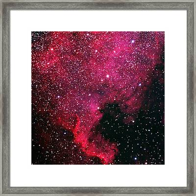 North American Nebula Framed Print by Alan Vance Ley