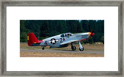North American P-51 Mustang Framed Print by Chris McKenna