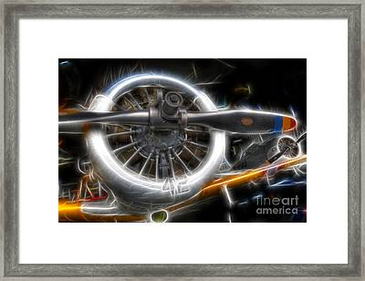 North American T-6 Texan Warbirds Framed Print by Lee Dos Santos