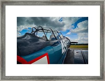 North American T-6g  Texan  Framed Print by Puget  Exposure