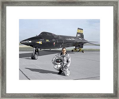 North American X-15 Test Plane Framed Print by Nasa