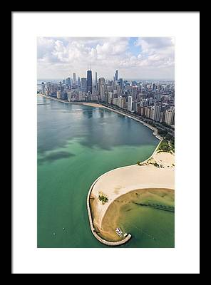 Aerial Framed Prints