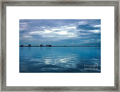 North Bay Village Framed Print by Andres LaBrada