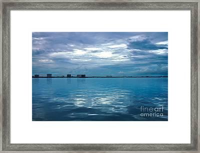 North Bay Village Framed Print by Andres LaBrada