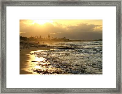 North Beach Framed Print by Saya Studios