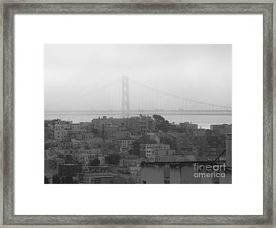 North Bridge Framed Print