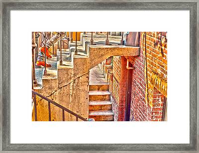 North By Northwest By Denise Dube Framed Print by Denise Dube