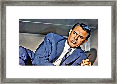 North By Northwest Framed Print by Florian Rodarte