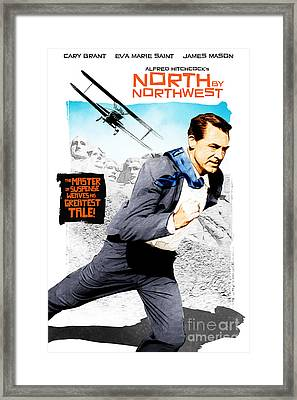 North By Northwest Framed Print by Michal Lanczkowski