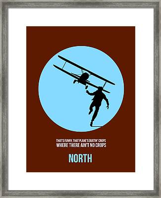 North By Northwest Poster 2 Framed Print by Naxart Studio