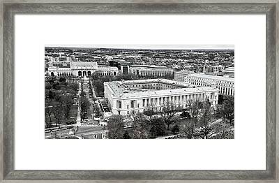 North Capitol Hill Framed Print by Mitch Cat