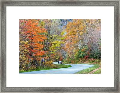 North Carolina, Blue Ridge Parkway Framed Print by Jamie and Judy Wild