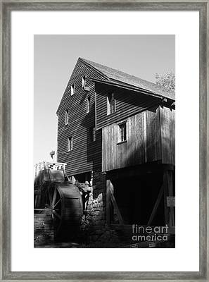North Carolina Mill Framed Print by Dwight Cook