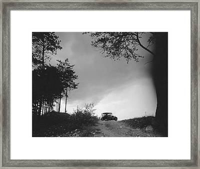 North Carolina Scenic View Framed Print by Underwood Archives