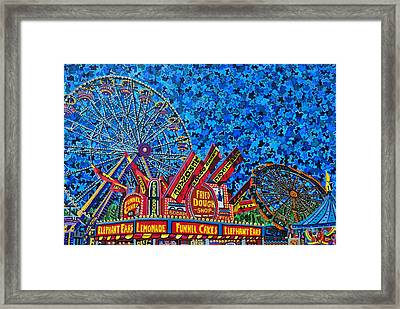 North Carolina State Fair 2 Framed Print by Micah Mullen