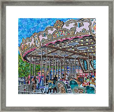 North Carolina State Fair Framed Print by Micah Mullen