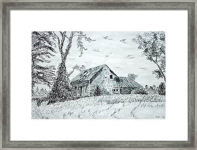 North Carolina Vernacular Framed Print