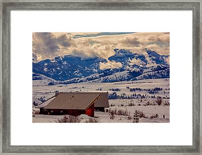 North Cascades Mountain View Framed Print by Omaste Witkowski