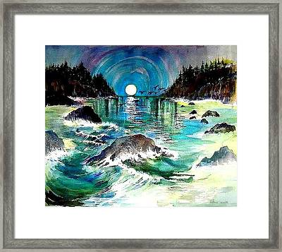 North Coast Sea Framed Print