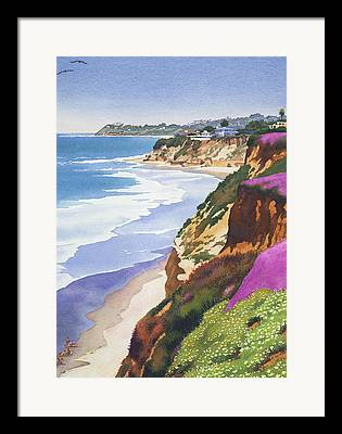 Southern California Framed Prints