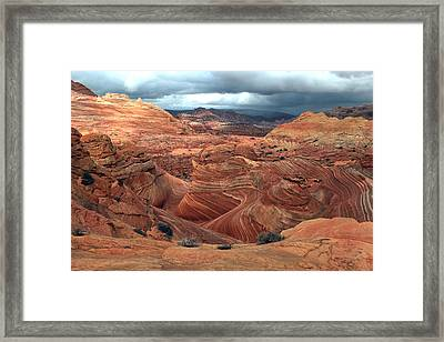 North Coyote Buttes Framed Print