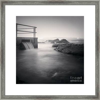 North Curl Curl Rockpool Sydney Framed Print by Colin and Linda McKie