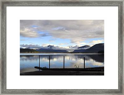 Framed Print featuring the photograph North Douglas Reflections by Cathy Mahnke