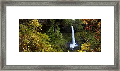 North Falls Panorama Framed Print