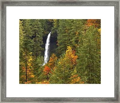 North Falls Framed Print