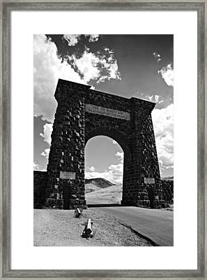 North Gate Framed Print by Paul Conner