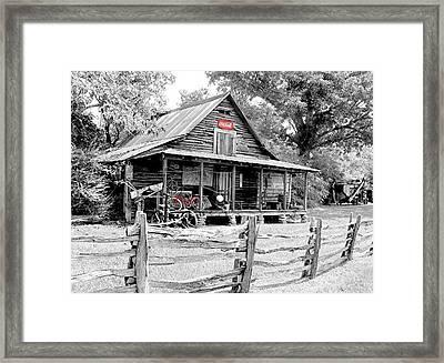 North Georgia's Murrayville Framed Print by EG Kight