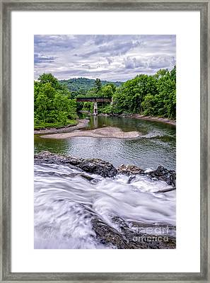 North Hartland Vermont Swimming Hole Framed Print