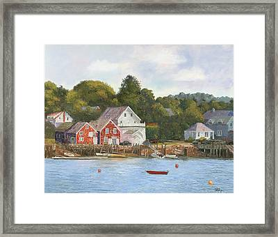 North Haven Island Maine Framed Print by Tommy Thompson