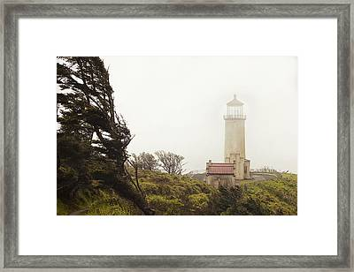 North Head Lighthouse Framed Print by Andrew Soundarajan