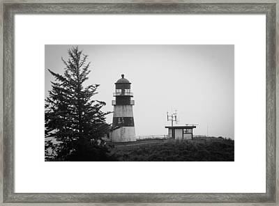 Framed Print featuring the photograph North Head Washington by Erin Kohlenberg