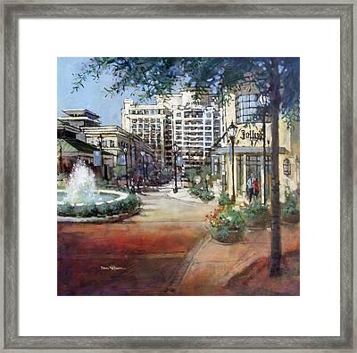 North Hills Vista Framed Print