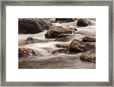 North Inlet Framed Print