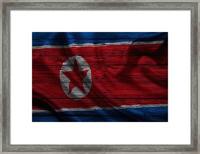 North Korea Framed Print by Joe Hamilton