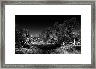 North Lake Framed Print by Julian Cook
