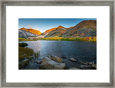 North Lake Framed Print by Peter Dang